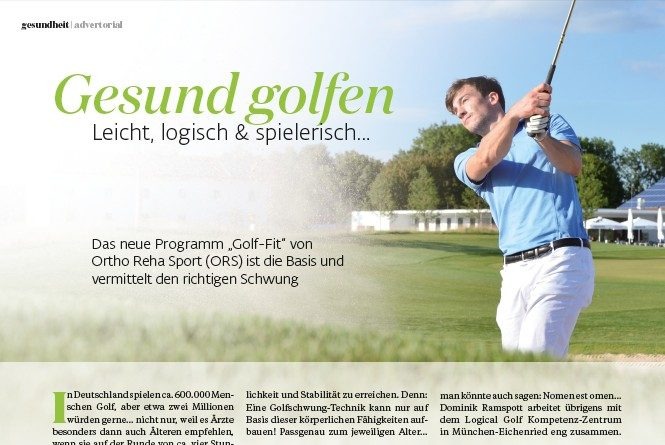 ORS Golf-Fit TOP-Magazin 05-2017