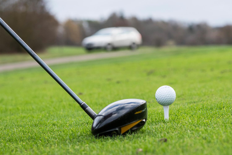 HUK Golfball Schaden